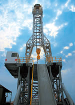 drilling rig, drill rig, fast moving rig